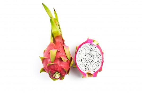 Drakono vaisius baltu minkštimu